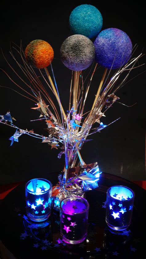 space themed decorations 25 unique centerpieces ideas on