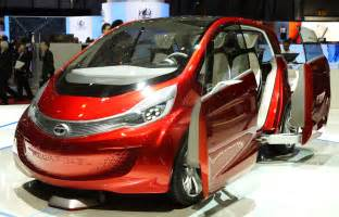 Electric Car Of Tata Tata Motors Unveil Megapixel At The Geneva Motorshow
