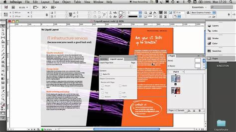layout view indesign jigsaw24 demos adobe indesign cs6 liquid layout youtube