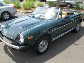 79 Fiat Spider For Sale 1979 Fiat Spider Convertible Put The Top
