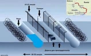 ukraine ukraine russia border fence european bulwark
