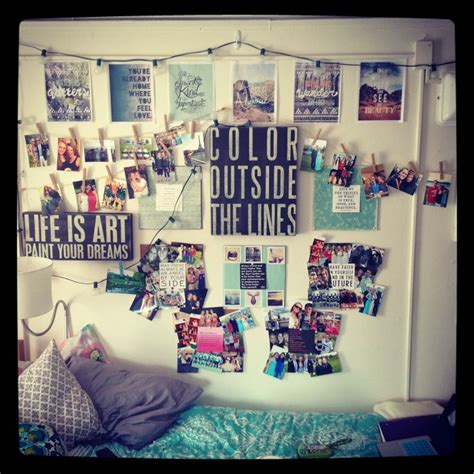 creative wall picture collage ideas for your dorm or bedroom dorm room decorating idea since i already have the