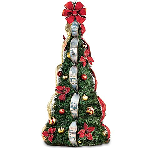 pre decorated pull up tree pull up trees buy pull up tree santa s site