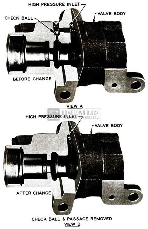 1956 buick power steering pump 1956 buick steering gear maintenance hometown buick