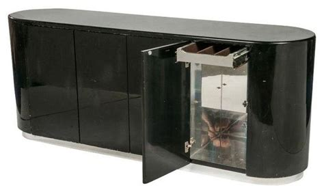 Black Lacquer Buffet Modern Buffets And Sideboards Black Modern Buffet