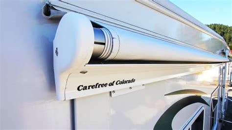 slide awnings how to replace a carefree of colorado rv slide topper