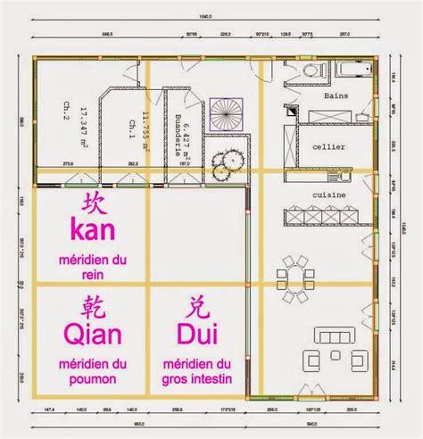 Plan Feng Shui Maison 2973 by Feng Shui Maison Plan Fabulous Merveilleux Plan Maison
