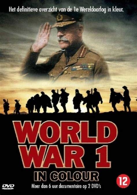world war 1 in color bol world war 1 in colour 2dvd muziek
