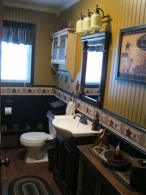excellent primitive country bathroom ideas 31 manufactured