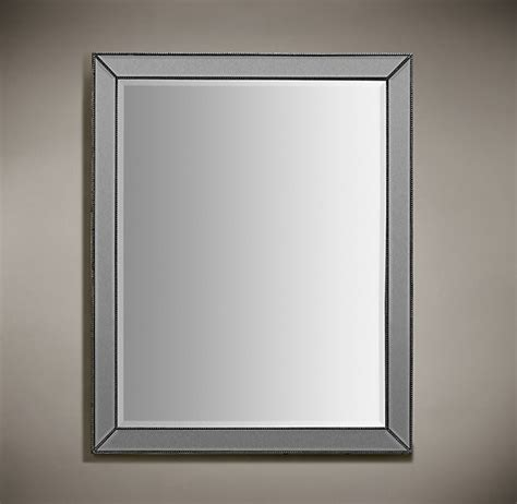 silver bathroom mirror venetian beaded mirror silver 30x40