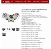 Ask EngineGuy A Blog About Cars  Ford 54L 3V Specs
