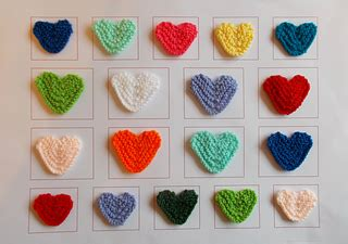ravelry patterns library little hearts ravelry marianna s little knitted hearts pattern by