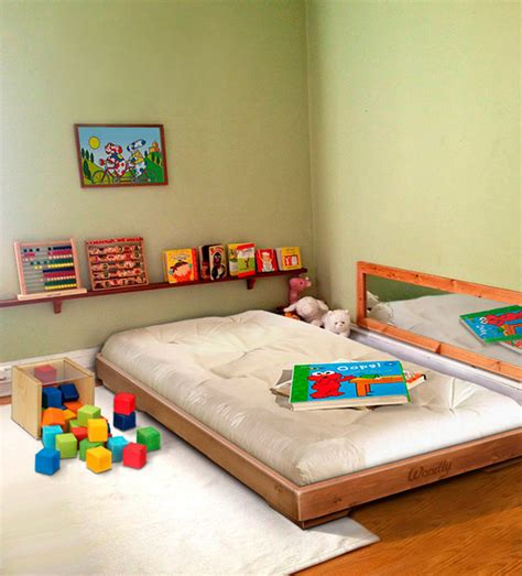 montessori floor bed frame montessori floor bed 1000 ideas about montessori bed on