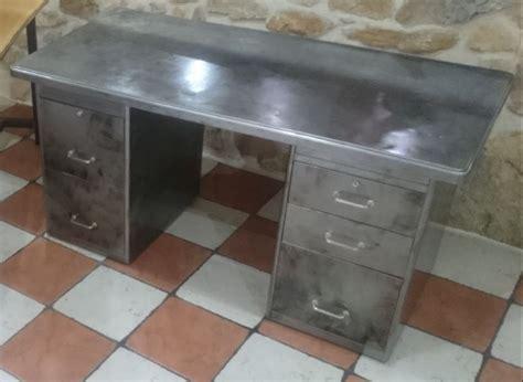 bureau vintage industriel bureau industriel vintage annee 50 meubles par audrey84150