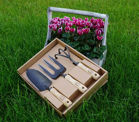 backyard gifts garden gift box set by dewit made in holland