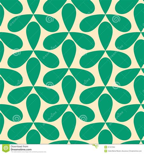 geometric pattern green seamless green helices geometric pattern stock images