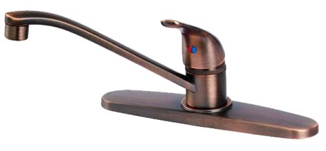 Plumb Usa 1 handle kitchen faucet antique copper no spray 35044 ebay