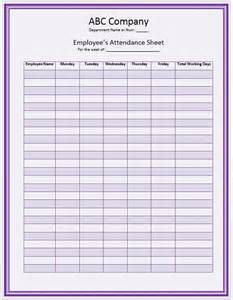 Record more employee attendance attendance record hints household