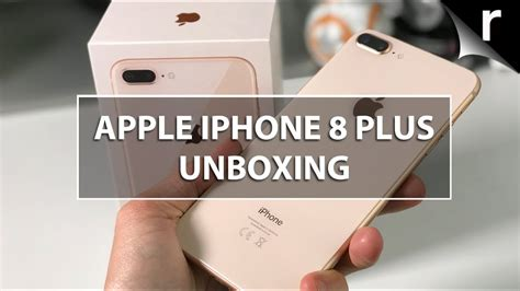 apple iphone 8 plus unboxing on review glossy phim22
