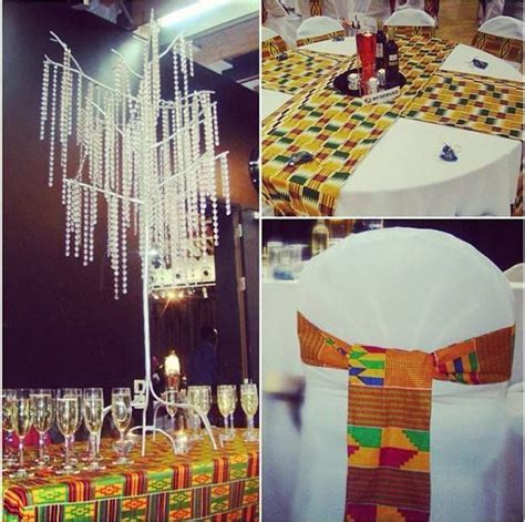 Kente Cloth Sashes and Table Runners   Adult decor, party