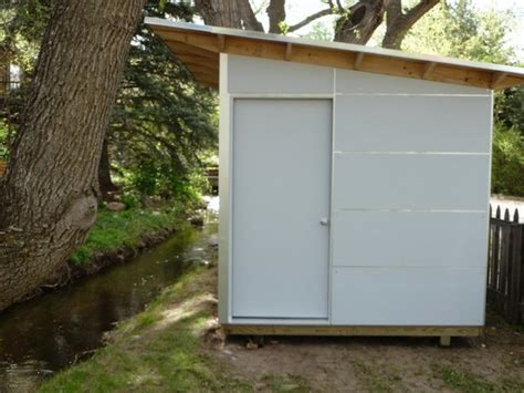 green white storage shed studio shed storage
