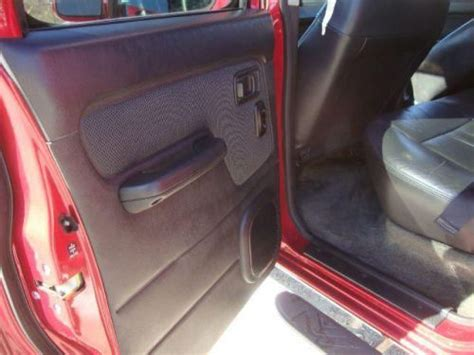 2001 nissan frontier seats purchase used 2001 nissan frontier se in 2849 jefferson