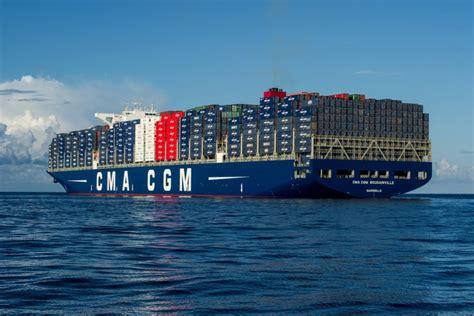 porte containers d 233 couvrez le plus grand porte container fran 231 ais en images