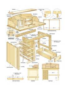 Rotating Bookcase Build A Desk Plans Quick Woodworking Projects