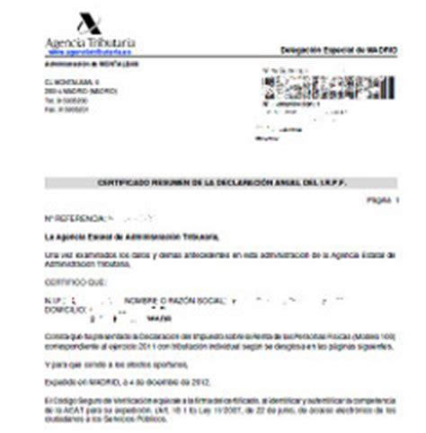 certificado de imputaciones del 2015 c 243 mo solicitar el certificado de irpf al momento sin