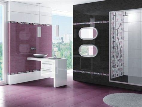 Purple Black Bathroom Ideas Ba 241 Os Colores Espaciohogar
