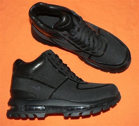 nike air boots nike air max goadome rs boots black mens new acg ebay