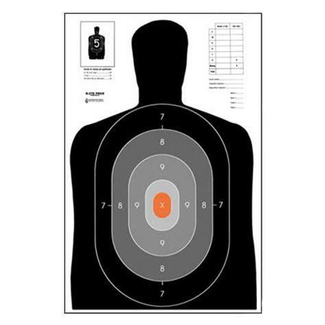 printable law enforcement shooting targets law enforcement targets inc b 27e pros target minimum