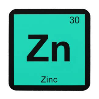Periodic Table Zn by Zinc Symbol Gifts On Zazzle
