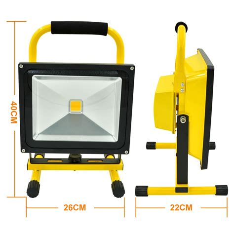 how emergency light works mengsled mengs 174 50w rechargeable led flood light 900lm