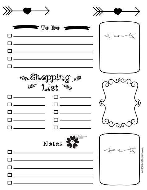 printable diary templates free bullet journal printables