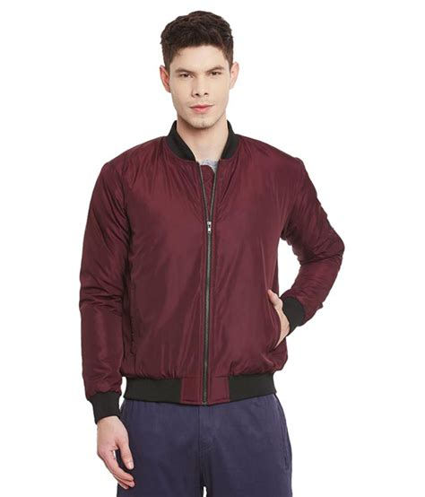 Jaket Bomber Pria Hitam Maroon 2 In 1 Bisa Di Bolak Berkualitas yepme maroon quilted bomber jacket buy yepme maroon quilted bomber jacket at best
