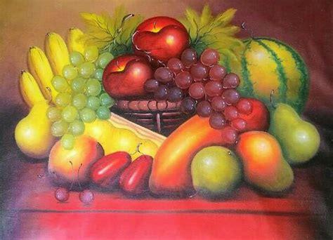 Benih Buah Raspberry Hitam Murah jual lukisan buah buahan di atas meja di lapak putri bali painting baliputri1