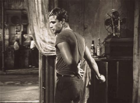 Brando Has A Something For The by Marlon Brando Gif Find On Giphy