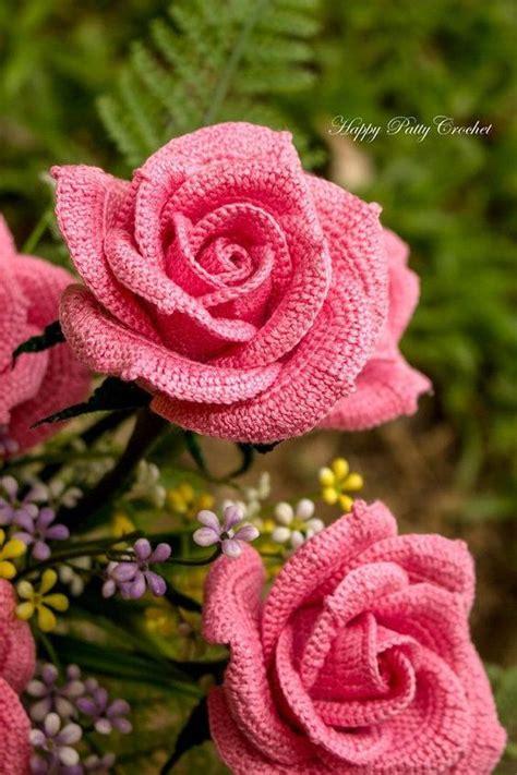 pattern of flower arrangement crochet rose pattern crochet flower pattern for bouquets