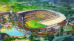 Home Design Plaza Tampa atlanta braves release designs for new stadium to open in 2017