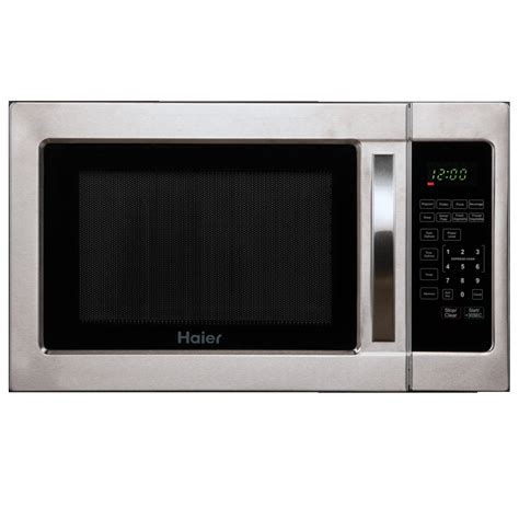 Countertop Microwave by Brand Haier Model Hmc1035sess Color Stainless Steel