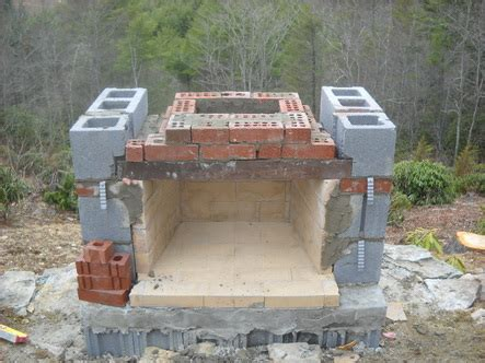 how to build a fireplace and chimney stoneblog living masonry