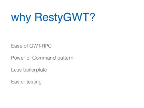 command pattern xml easy rest apis with jersey and restygwt