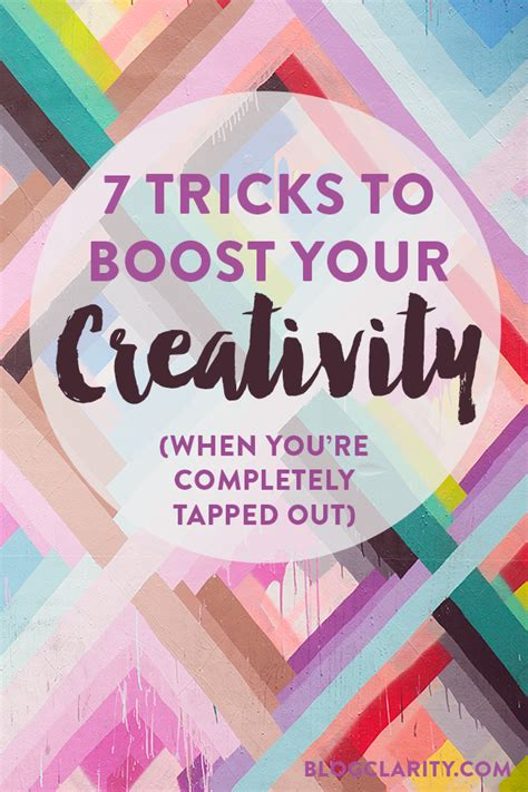 7 ways to boost your creativity share the love thursday blog roundup 6 a fresh start