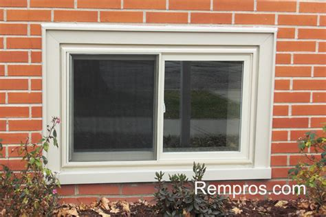 28x36 basement vinyl window replaced