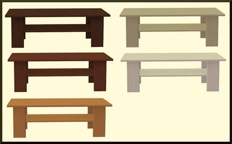 Ikea Benno Coffee Table Mod The Sims Benno Coffee Table Recolors Matches Benno Entertainment Center
