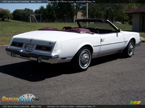 1983 buick riviera convertible 1983 buick riviera convertible white photo 14