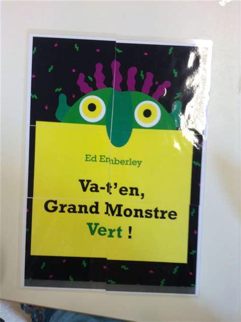 libro va ten grand monstre vert les 22 meilleures images 224 propos de album va t en grand monstre vert sur album