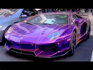 chrome purple and orange lb performance aventador pimped