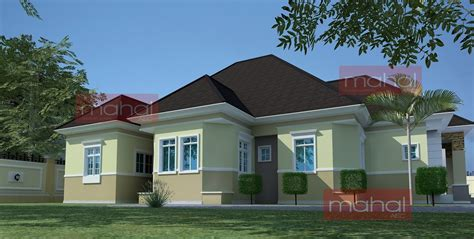 2 Bedroom Semi Detached House Plans Contemporary Nigerian Residential Architecture Festus